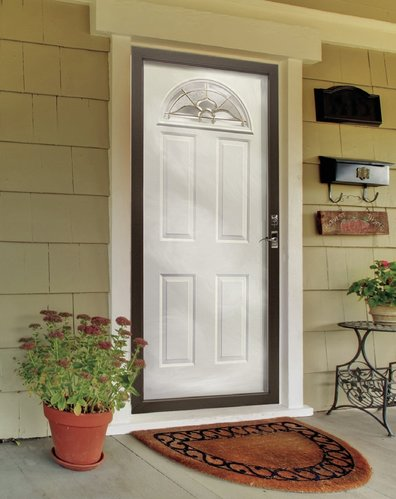 Full View Storm Door in Buffalo, New York